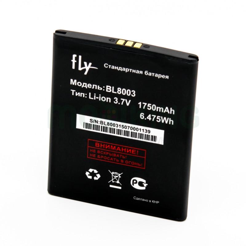 Оригинальная батарея на Fly IQ4491 (BL8003) для мобильного телефона, аккумулятор для смартфона.