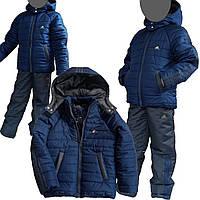 Зимний костюм адидас на мальчика купить в интернет магазине.Купить зимний костюм 134р,140р,146,152р. 146р