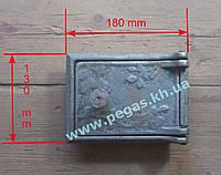 Дверка сажетруска прочистная чугунная (110х160 мм)
