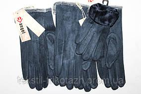 Перчатки женские Замш № 003 (уп 10 шт) , фото 2