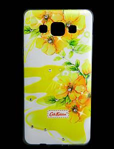 Чехол накладка для Samsung Galaxy A5 A500 силиконовый Diamond Cath Kidston, Sun Flowers