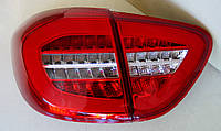 Renault Captur оптика задняя LED светодиодная красная