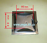 Дверка сажетруска прочистная металлическая (150х150 мм), фото 2