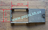 Дверка чугунная печная чугунное литье, барбекю, мангал, печи, котлы (200х250 мм), фото 3