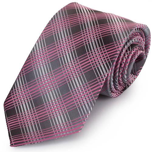 Универсальный мужской широкий галстук SCHONAU & HOUCKEN (ШЕНАУ & ХОЙКЕН) FAREPS-92 розовый
