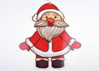 Санта Клаус подвесной 36 х 40 см.