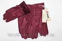 Перчатки женские Замшевые  № 006 (уп 10 шт) , фото 2