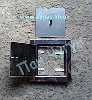 Дверца прочистная нержавейка 140х140 мм.