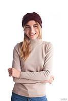 Женская ажурная шапка
