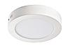 """Светодиодный LED светильник 6W """"круг"""" 4200К накладной d=120мм 420Lm Евросвет"""