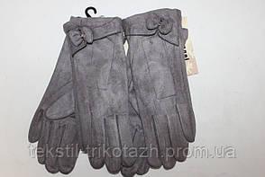 Перчатки женские Замшевые  № 024 (уп 10 шт) , фото 2