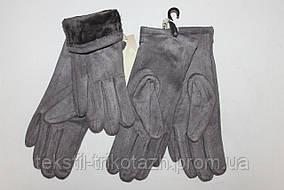 Перчатки женские Замшевые  № 024 (уп 10 шт) , фото 3