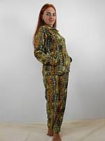 Пижама женская махровая