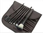 Набор кистей для макияжа MAKE-UP FOR YOU 7 штук в коричневом чехле, фото 2