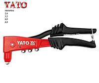 Пистолет для  «слепых» заклепок  «Yato»  PROFI