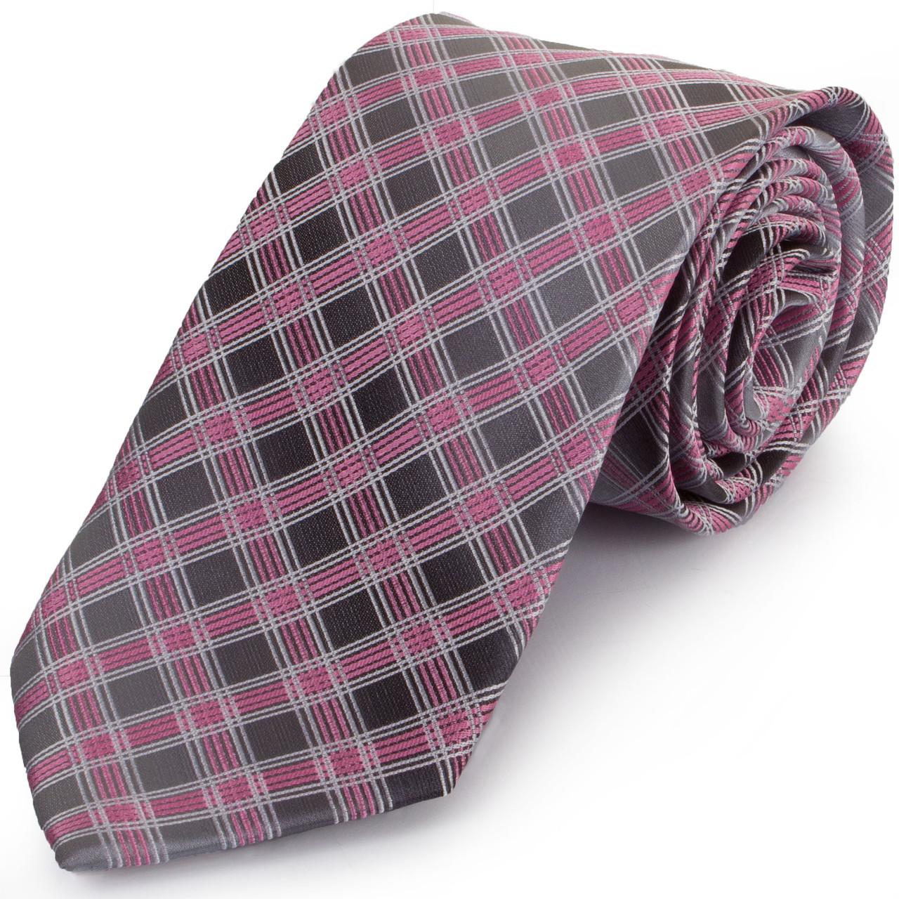 Актуальный мужской широкий галстук SCHONAU & HOUCKEN (ШЕНАУ & ХОЙКЕН) FAREPS-95 фиолетовый