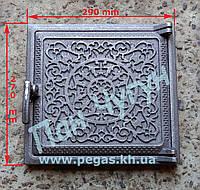 Дверка чугунная печная (270х290 мм), фото 1