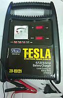 Зарядное устройство 8A Tesla 6-12V/8A/15-120AHR/ стрелочный индикатор Vitol