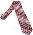Симпатичний чоловічий широкий галстук SCHONAU & HOUCKEN (ШЕНАУ & ХОЙКЕН) FAREPS-96 червоний, фото 2