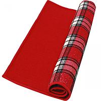 Полотенце-подкладка для сушки посуды Клетка 50х36 см