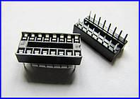 Панели для микросхем DIP-16, (2,54).
