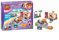 "Конструктор Bela Friends 10491 ""Скейт-парк"" (аналог LEGO Friends 41099)"