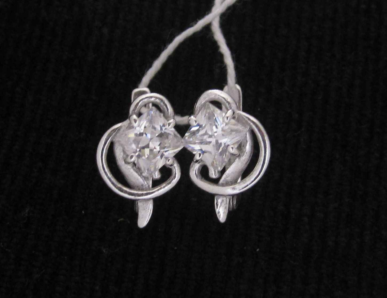 Серьги серебро 925 проба №254