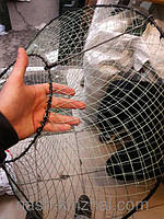 Раколовка конус усиленная,прочный металлический каркас, ловушка для раков всегда под рукой, рыболовные сети