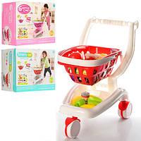 Магазин-супермаркет с тележкой игровой набор для детей 922-12-13