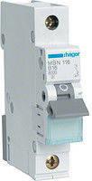 Автоматический выключатель Hager MBN 106E 1P B6