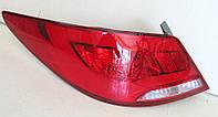 Hyundai Solaris оптика задняя светодиодная LED tube красная