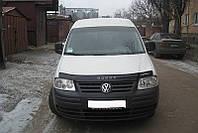 Мухобойка +на капот  VW CADDY с 2004-2010 г.в. (Фольксваген Кадди) Vip Tuning