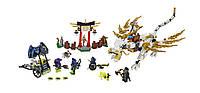 LEGO Ninjago Дракон Мастера Ву Master WU Dragon Ninja Building Kit 70734