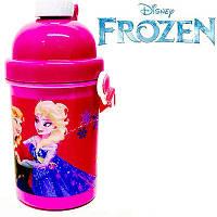 """Бутылочка с трубочкой """"Frozen (Холодное сердце)"""""""