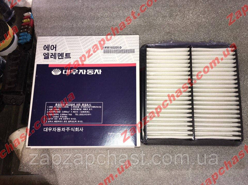 Фильтр воздушный Lanos Ланос Sens Сенс Daewoo motors