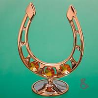 Эксклюзивная сувенирная позолоченная подкова - лучший подарок на новый год 2014 купить недорого в Харькове