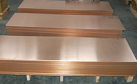 Лист медный М1 1х600х1500 мм недорого медный прокат