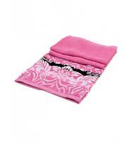 Банное полотенце розовое