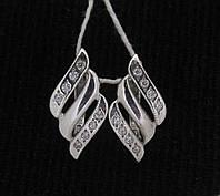 Серьги серебро 925 проба №388