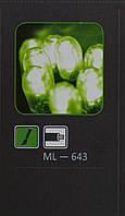 Светодиодная гирлянда из больших ламп LED, 20м, зеленая