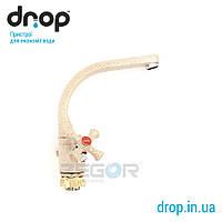 Cмеситель Zegor T43-TLD-A856 двухвентильный кран для кухни 1.27, 12, Для кухонной мойки, Zegor, Китай