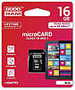 MicroSDHC 16Gb Good Ram (10class) with adapter