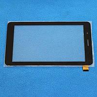 """Сенсорный экран Globex GU708C BT, LT70039E1_FPC, 7"""" 39 pin черный"""