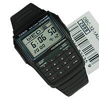 Часы Casio DBC-32-1AEF с калькулятором оригинал