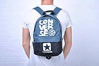 Рюкзак спортивный Converse синий/черный