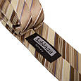 Шикарный мужской узкий галстук SCHONAU & HOUCKEN (ШЕНАУ & ХОЙКЕН) FAREPY-14 бежевый, фото 3