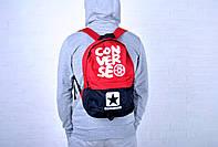 Рюкзак спортивный Converse красный/черный / Converse