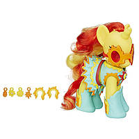 My Little Pony Пони-модница Сансет Шиммер Princess Cutie Mark Magic Fashion Style Sunset Shimmer Figure