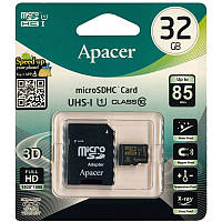 MicroSDHC 32Gb APACER UHS-1 (10class) with adapter