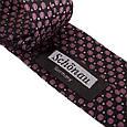 Эффектный мужской узкий галстук SCHONAU & HOUCKEN (ШЕНАУ & ХОЙКЕН) FAREPY-18 розовый, фото 3